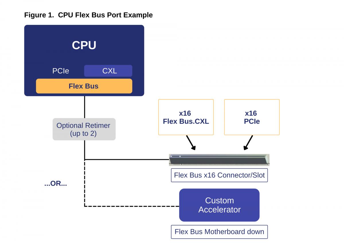 CPU Flex Bus Port Example